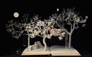 Sue Blackwell book sculpture
