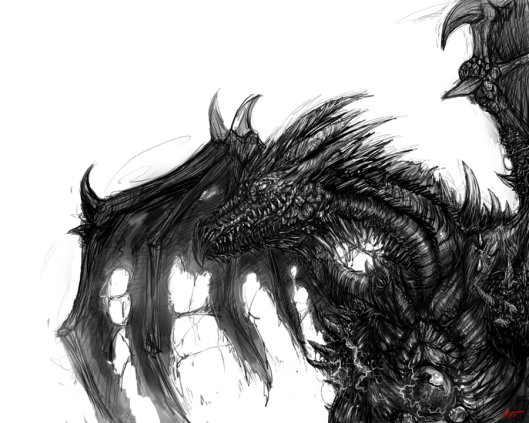 Black_Dragon_Sketch_by_Matusso